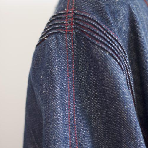 Précommande / Veste mi-longue TILDA – denim indigo