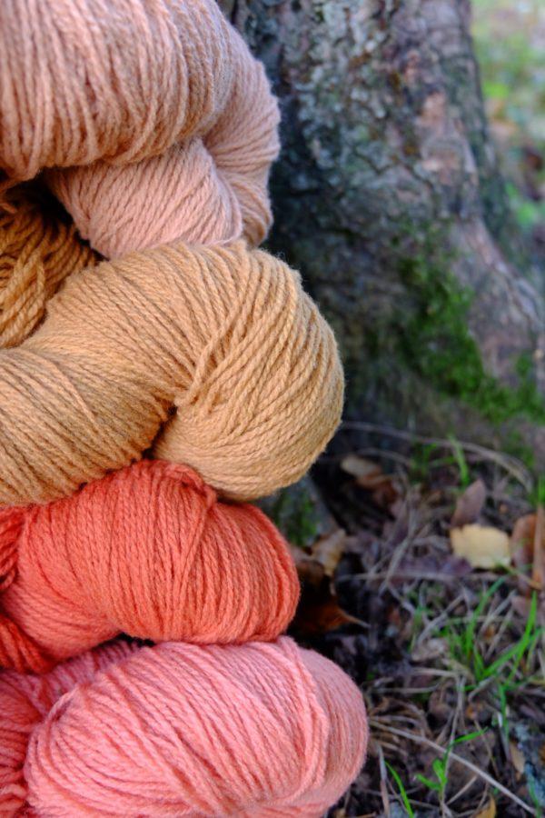 Chaussettes en laine couleurs