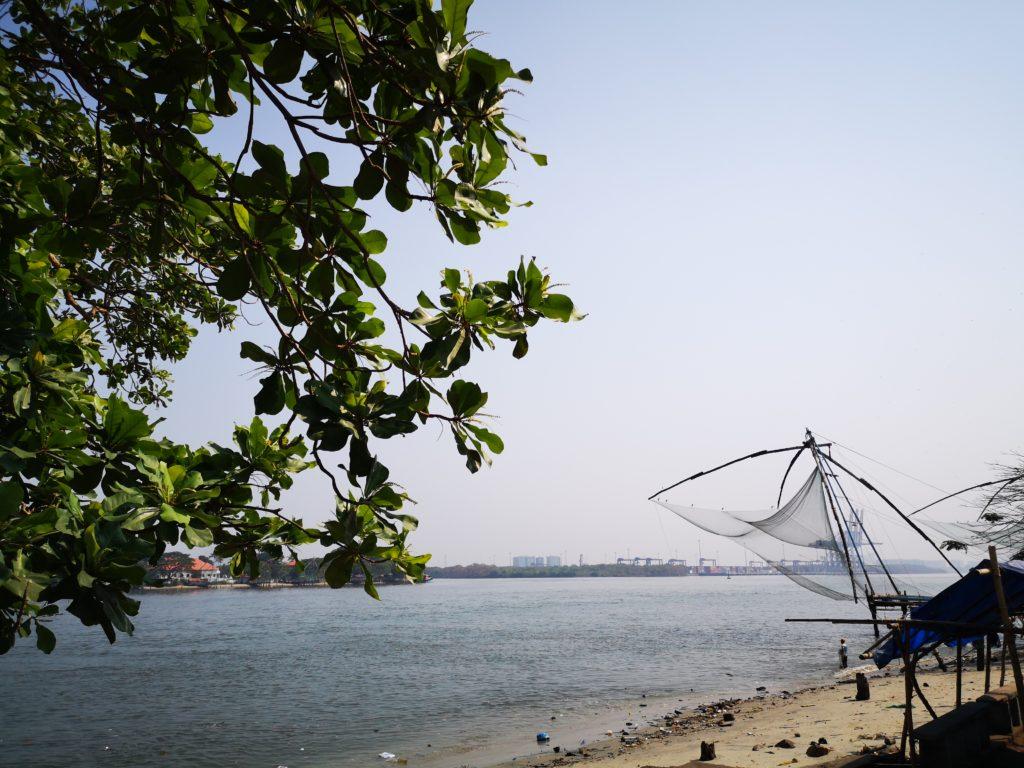 Chinese fishing nets : la pêche au carrelet