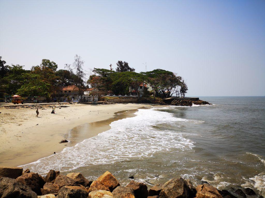 Plage de Fort Kochi