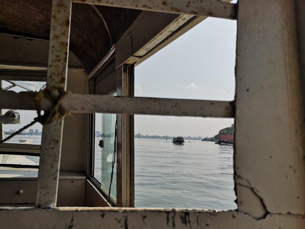 Ferry pour rejoindre Fort Kochi