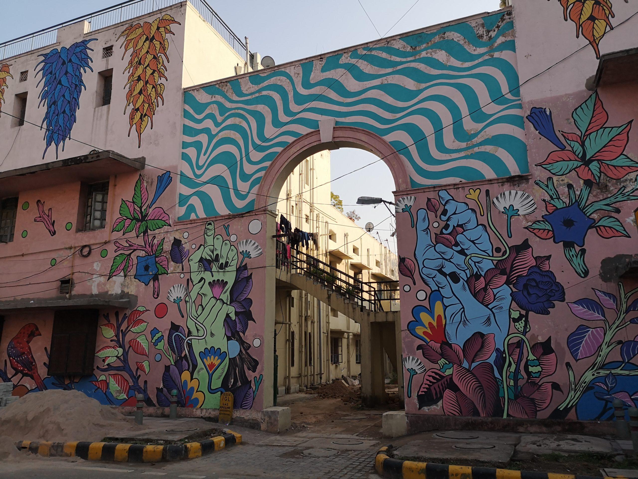 Street art à Lodhi Colony