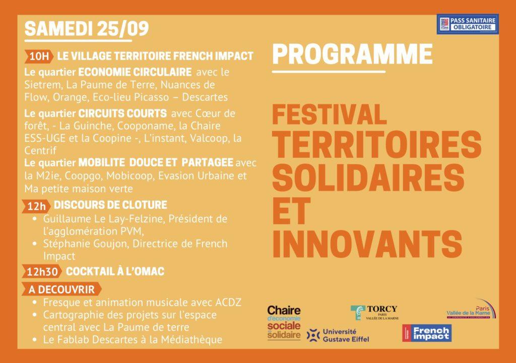 Evènement Festival des territoires solidaires et innovants