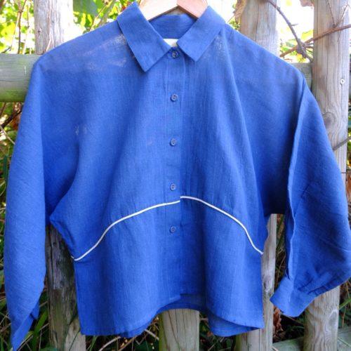 Chemise HINDI – bleu indigo
